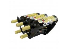 Stojan na 5 láhví - dřevěný R0015
