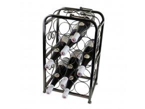 Kovový stojan na 14 vín, X0004