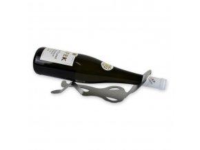 Nerezový stojan na víno, panáček X0012