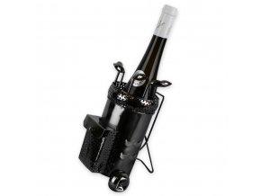 Kovový stojan na víno, golfový vozík X0016