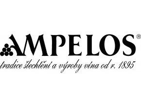 Vinařství Ampelos - Chardonay - výběr z hroznů - 2016