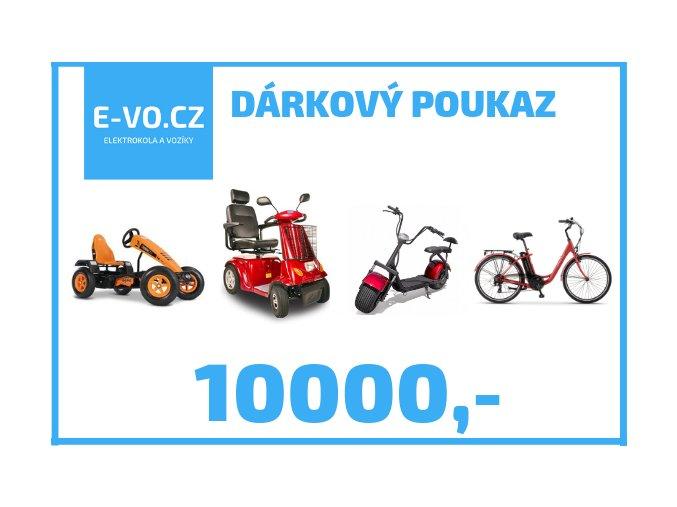 darkovy poukaz 10000,