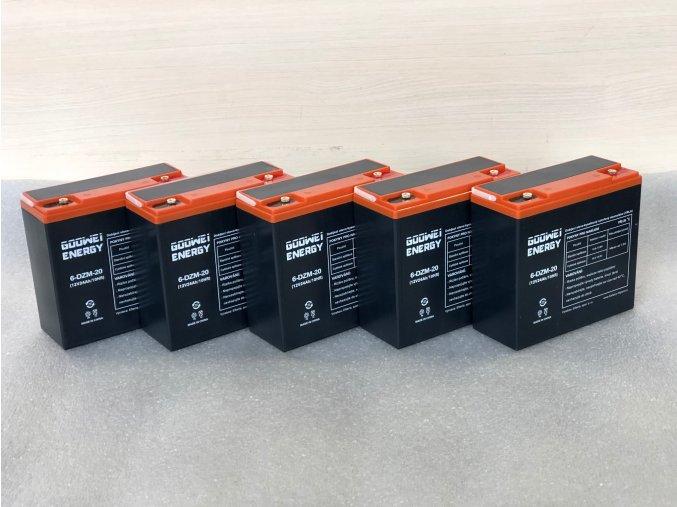 Trakční olověný akumulátor 60V 24Ah - pro modely SELVO 31000, 41000