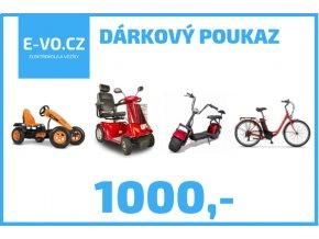 darkovy poukaz 1000,