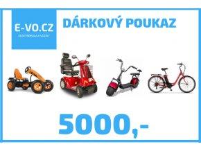 darkovy poukaz 5000,