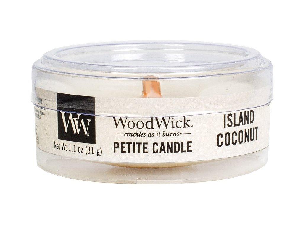 31854 1 WW kulatá víčko Island coconut