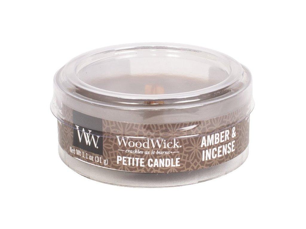 33144 1 WW kulatá víčko Amber & Incense