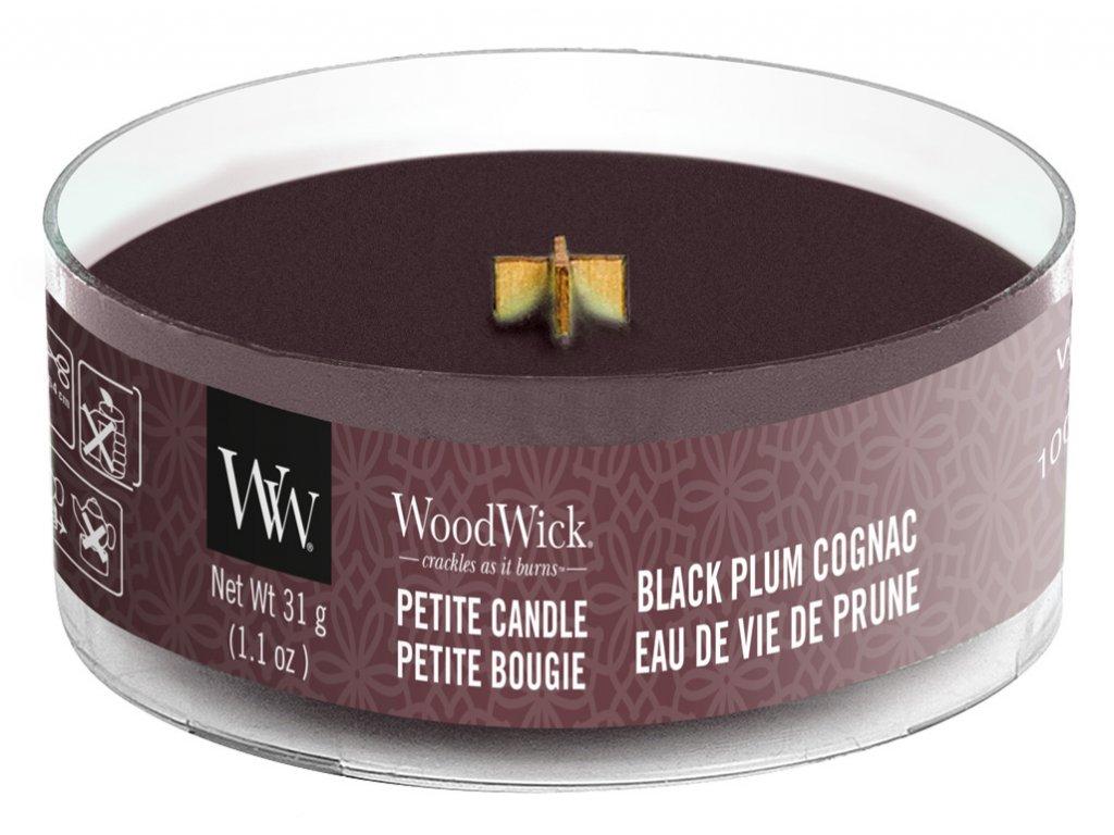 34043 WW kulatá Black plum gognac