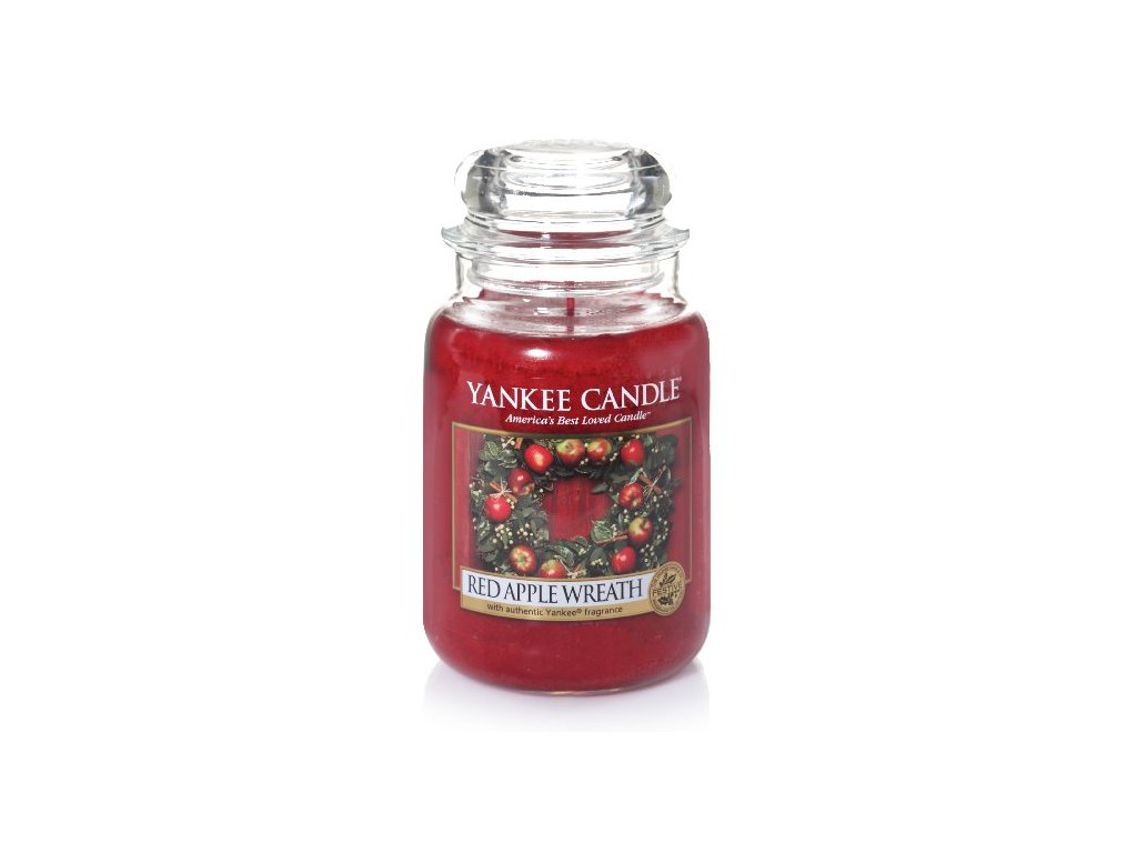 18360 YC velká Red apple wreath