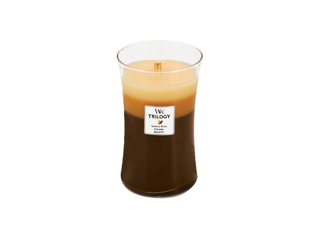 32031 WW velká TRILOGY Vanilla bean caramel biscotti