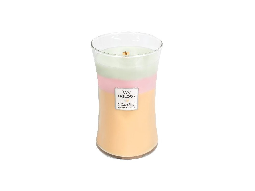 32052 WW velká TRILOGY Sweet lime gelato Raspberry yuzu Sparkling orange