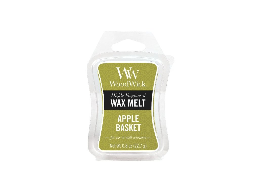 WoodWick vonný vosk Apple basket