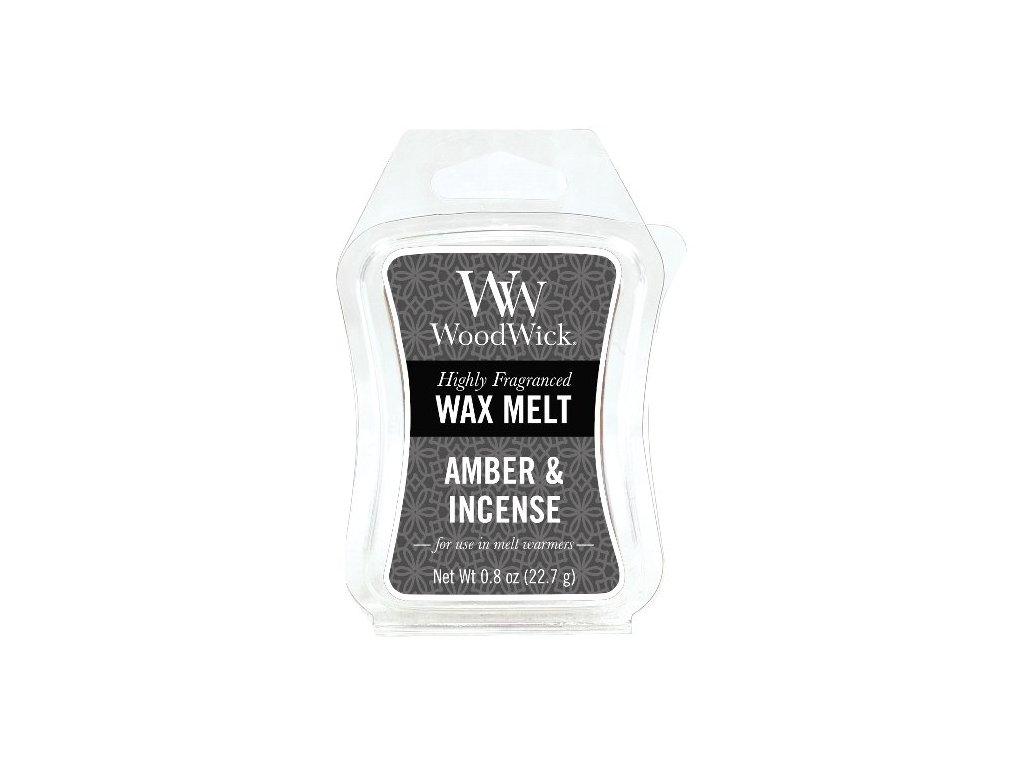33145 WW vosk Amber & Incense