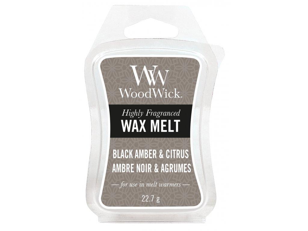33820 WW vosk Black amber& Citrus Amber noir & Argumes