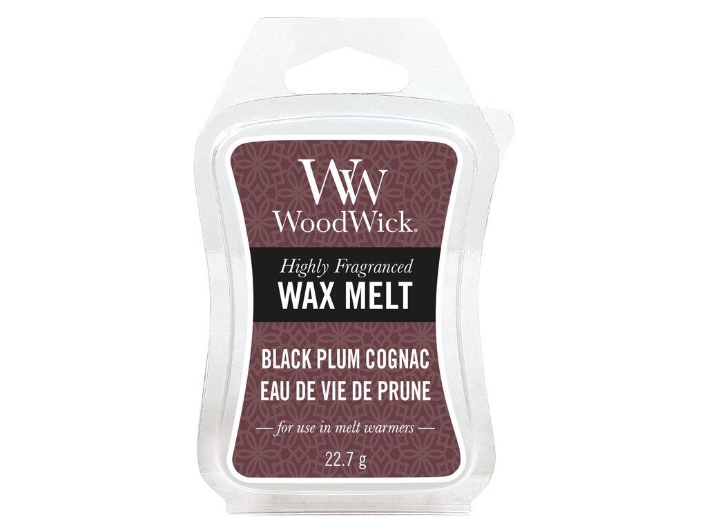 34042 WW vosk Black plum gognac Eau de vie de prune