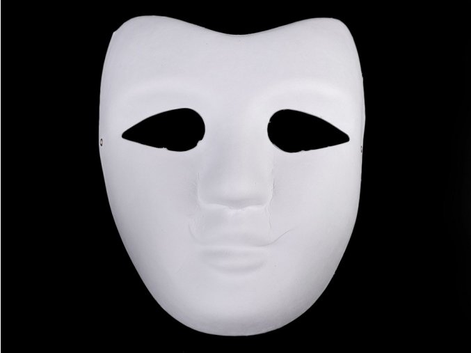Maska na obličej k domalování