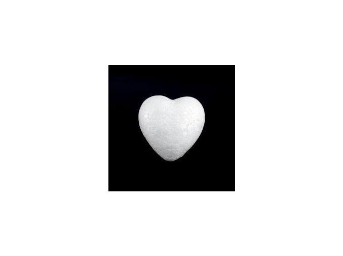 Polystyrenové srdce pr. 5 cm