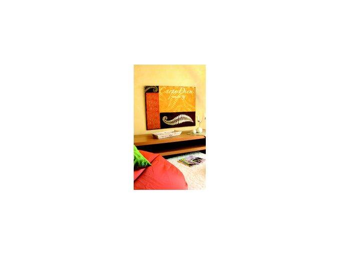 Tepané kovové plátky Home Design ART DECO, vzorované - hvězdičky-zlatá
