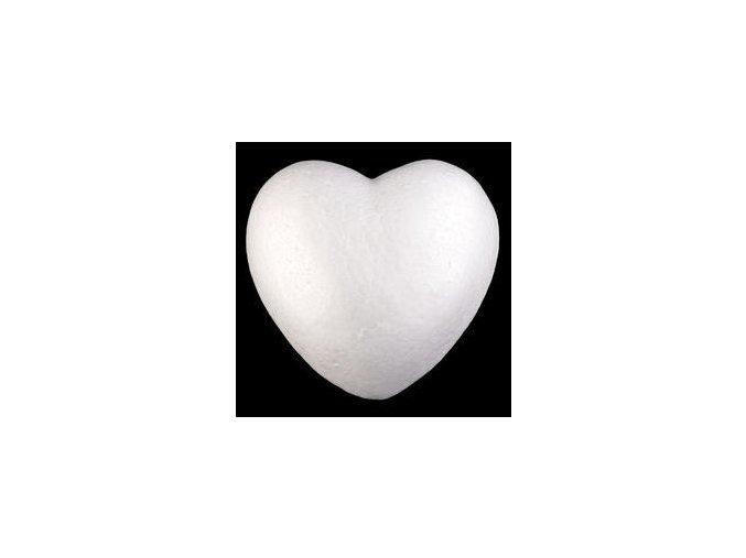Polystyrenové srdce pr. 15 cm