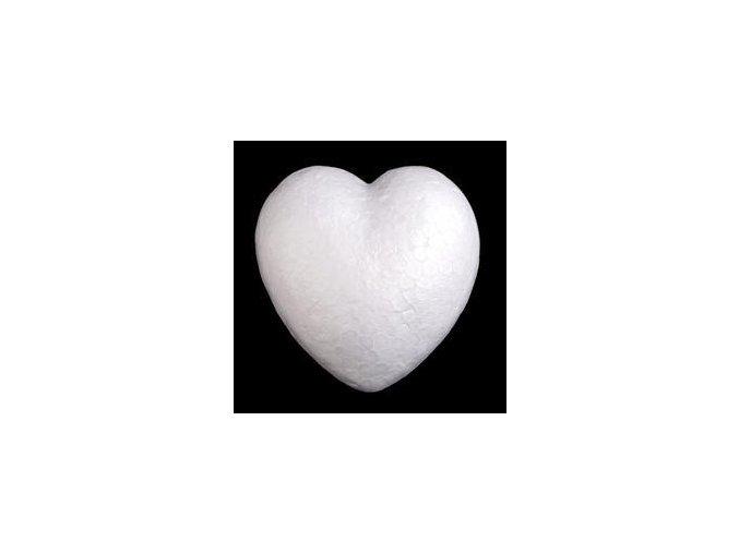 Polystyrenové srdce pr. 8 cm