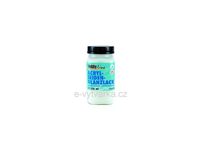 Akrylový lak na vodní bázi Hobby Line (275 ml) - saténový