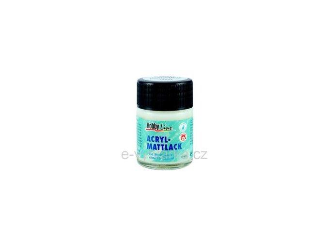 Akrylový lak na vodní bázi Hobby Line (50 ml) - matný