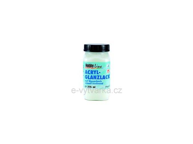Akrylový lak na vodní bázi Hobby Line (275 ml) - lesklý