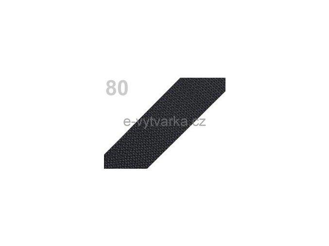 Popruh polypropylén š.50mm (5m) - šedá tm.