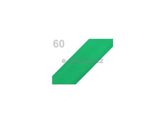 Popruh polypropylén š.50mm (5m) - zelená májová