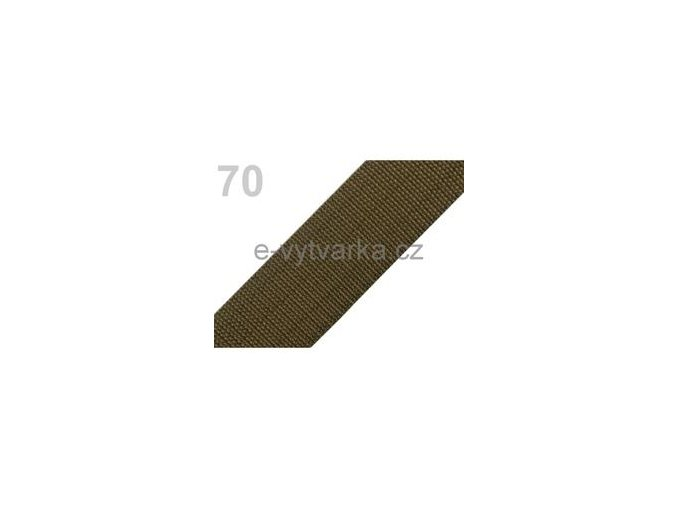 Popruh polypropylén š.50mm (5m) - avokádo
