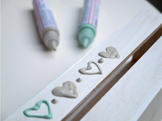 Hobby Line PicTixx Pen, plastická a konturovací (29 ml) - 20 odstínů