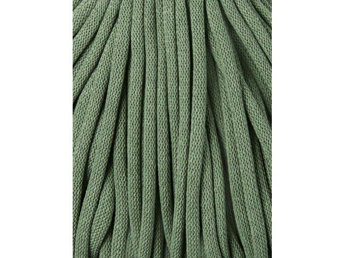 BOBBINY ŠŇŮRY JUMBO - 9mm - EUCALYPTUS GREEN