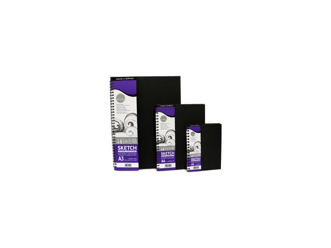 Blok, kroužková vazba - A6, A5, A4 A3 110 listů (100g/m2)