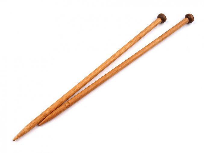 Jehlice na pletení bambusové č.10