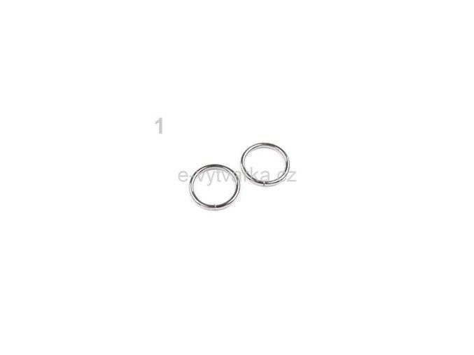 Kroužek jednoduchý pr.20mm (10ks) - nikl