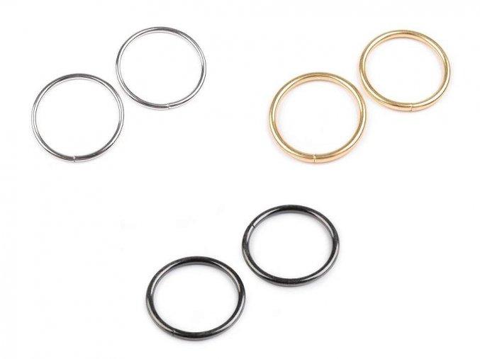 Kroužek Ø30 mm na koženou galanterii (10ks)