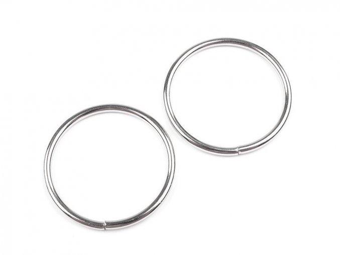 Kroužek Ø30 mm na koženou galanterii - 10ks