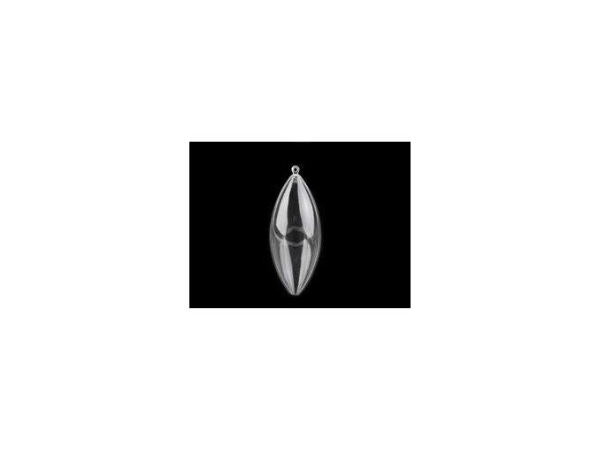 Plastová šiška 40x100 mm dvoudílná (1ks)