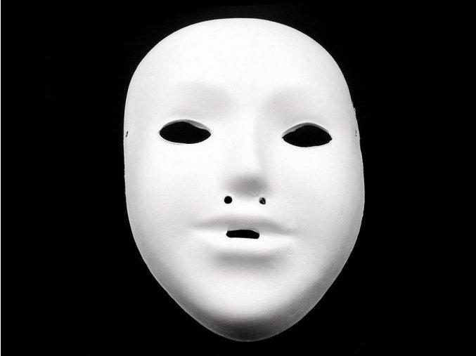 Dětská maska na obličej, papírová (12,5x17,5 cm)