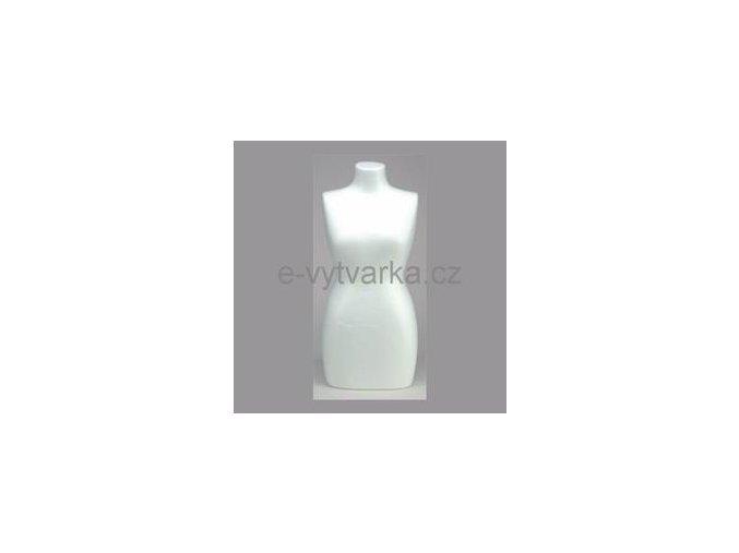 Polystyrenová bysta ženské torzo v.500 mm