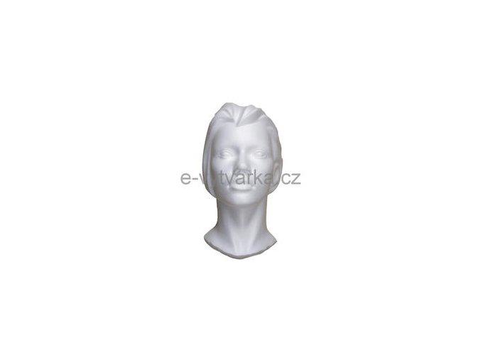 Polystyrenová bysta poloviční 15x19x33,5 cm