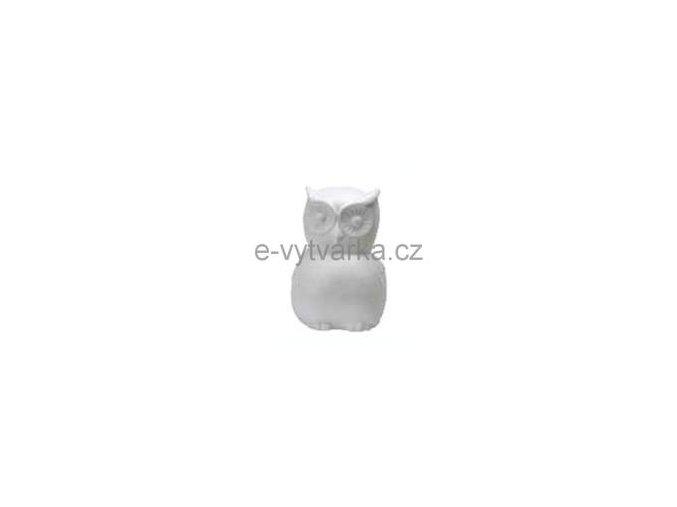 Polystyrenová sova 25 cm