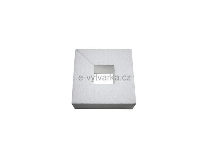 Polystyrenový čtverec 150x150x40 mm