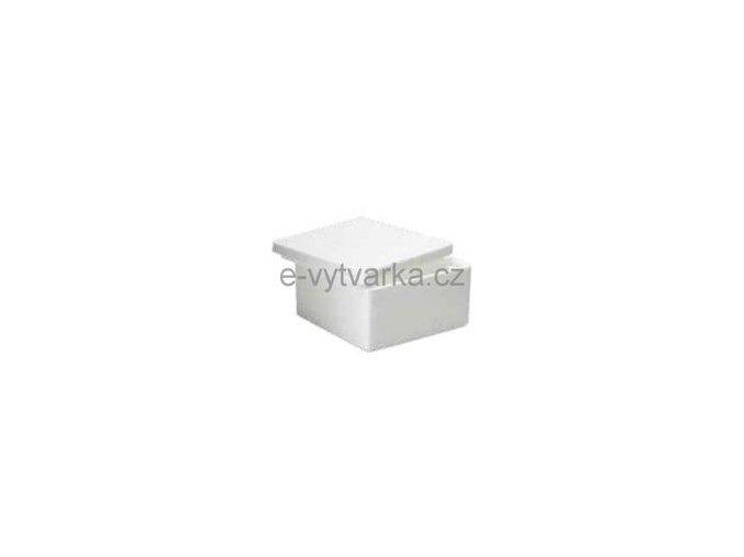 Polystyrenová dóza čtverhranná 130x130 mm