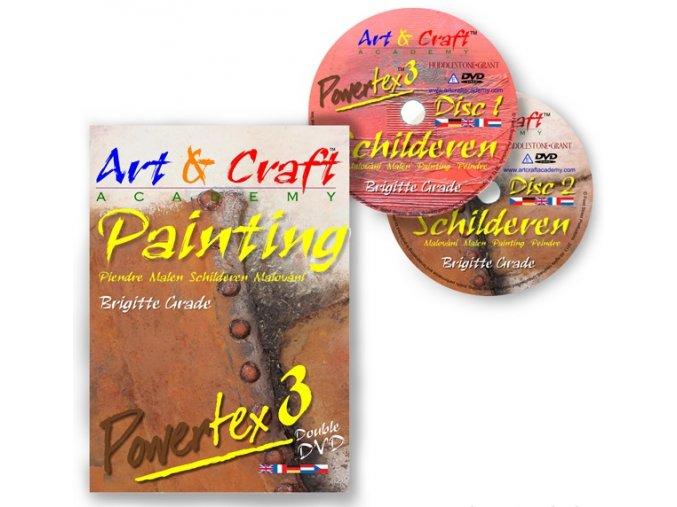 art und craft academy malen mit powertex dvd 3