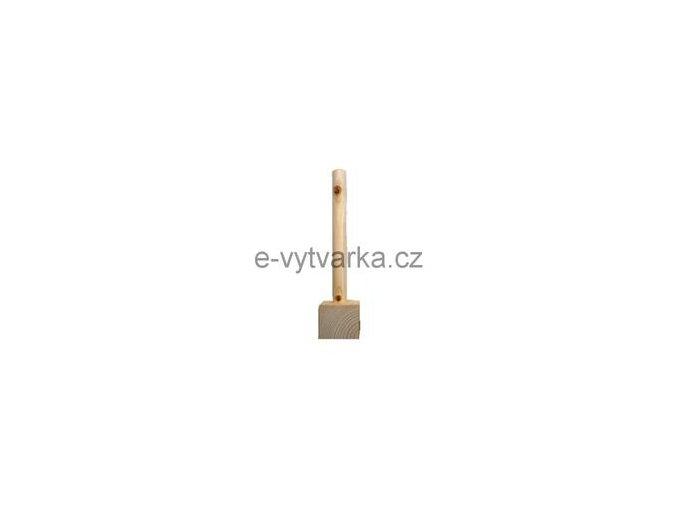 Dřevěná základna Powertex (7x7x30cm)