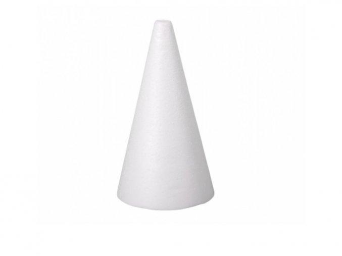 Polystyrenový kužel 20 cm
