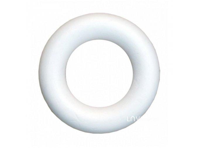 Polystyrenový věnec pr. 22 cm
