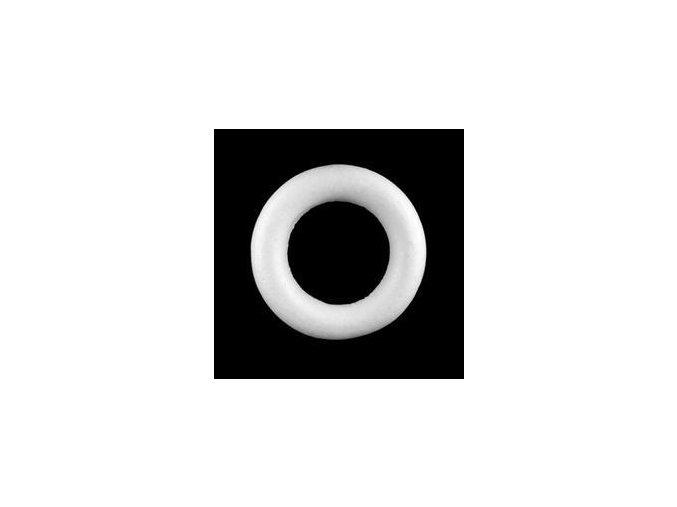 Polystyrenový věnec pr. 25 cm - půlený