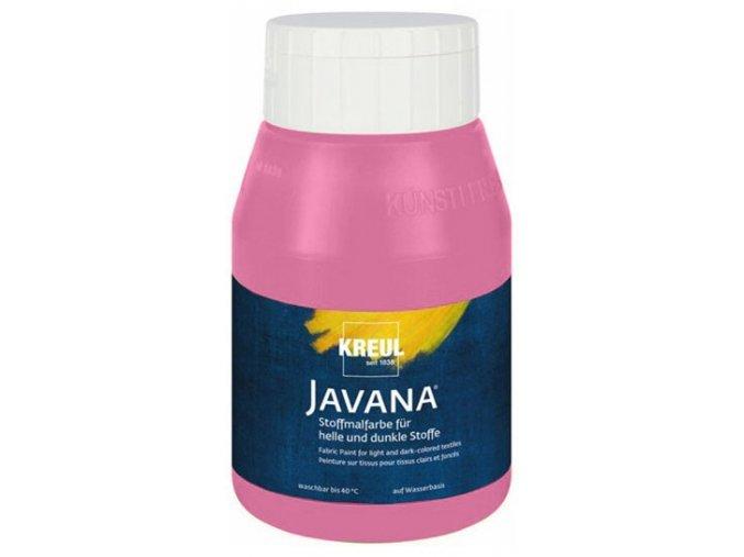 Barva na tm. a sv. textil Javana - základní (500 ml) - 16 odstínů